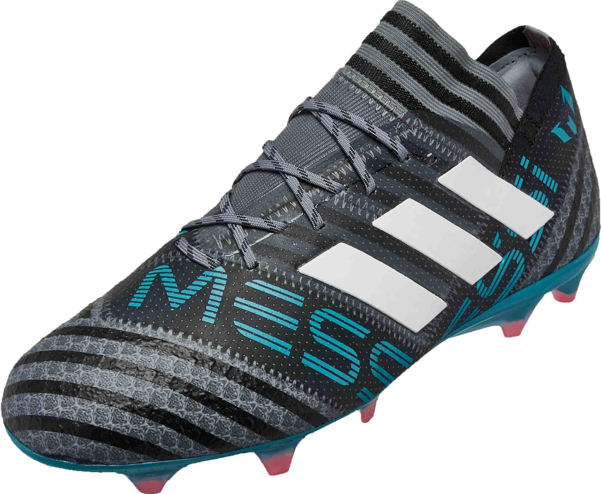 d9c2ab817 adidas Messi Nemeziz 17.1 - Grey and White