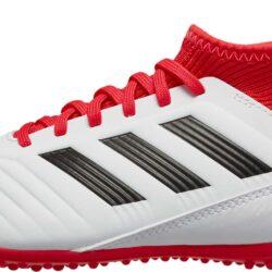 c4f0c92b99be adidas Kids Predator Tango 18.3 TF - White Real Coral - SoccerPro