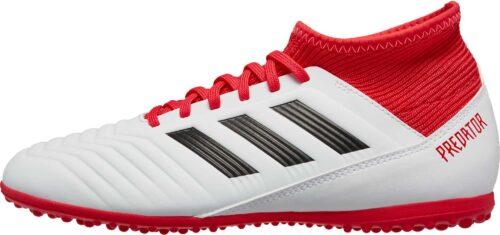 adidas Kids Predator Tango 18.3 TF – White/Real Coral