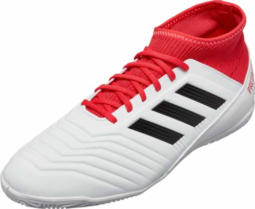 the latest 97386 baa06 adidas Kids Predator Tango 18.3 IN – White Real Coral