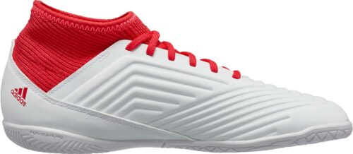 adidas Kids Predator Tango 18.3 IN – White/Real Coral