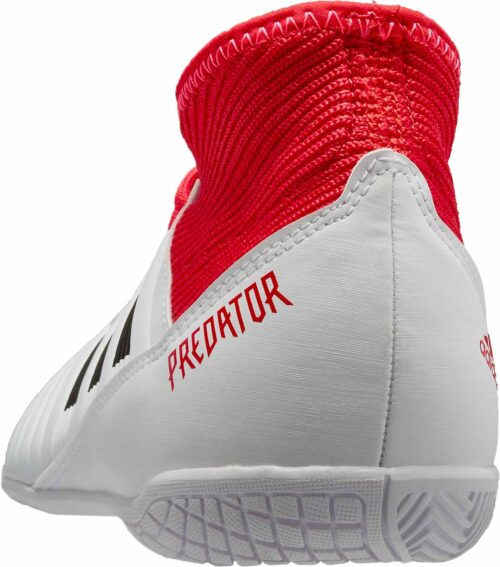 adidas Kids Predator Tango 18.3 IN – White/Real Coral