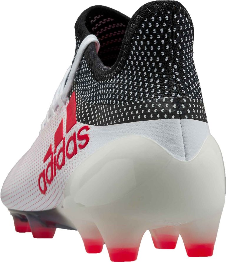adidas X 17.1 FG – Grey/Real Coral