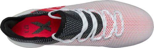 adidas X 17.1 FG – Grey/Real Coral
