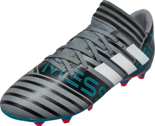 adidas Kids Nemeziz Messi 17.3 FG – Grey/White