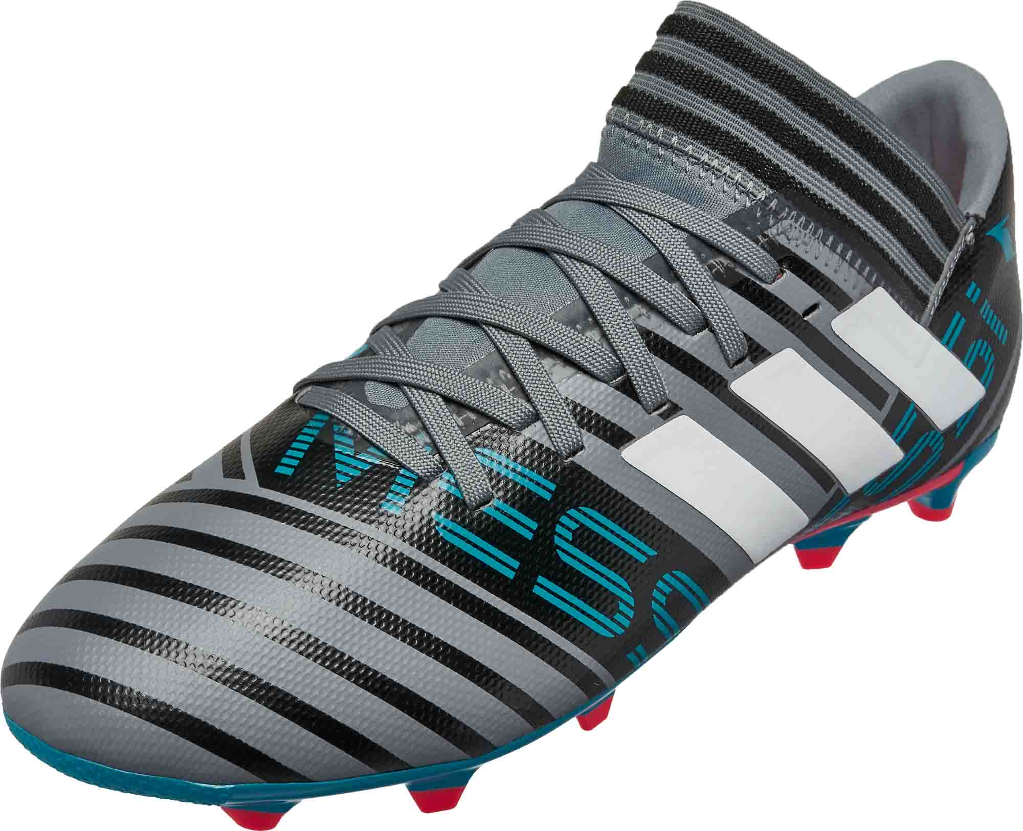 ae664dad3a42 Youth adidas Messi Nemeziz 17.3 - Grey and Blue - SoccerPro