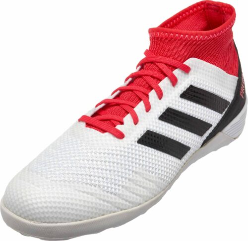 adidas Predator Tango 18.3 IN – White/Real Coral
