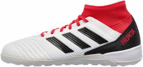 adidas Predator Tango 18.3 IN – White/Real Coral