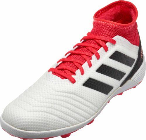 adidas Predator Tango 18.3 TF – White/Real Coral