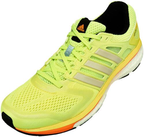 adidas Women's Supernova Glide 6 Boost Running Shoes – Green Glow