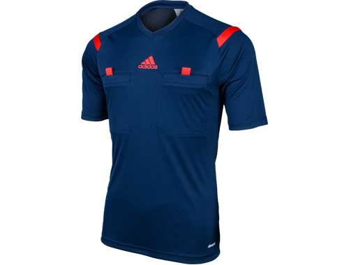 adidas Referee 14 Jersey NavySolar Zest