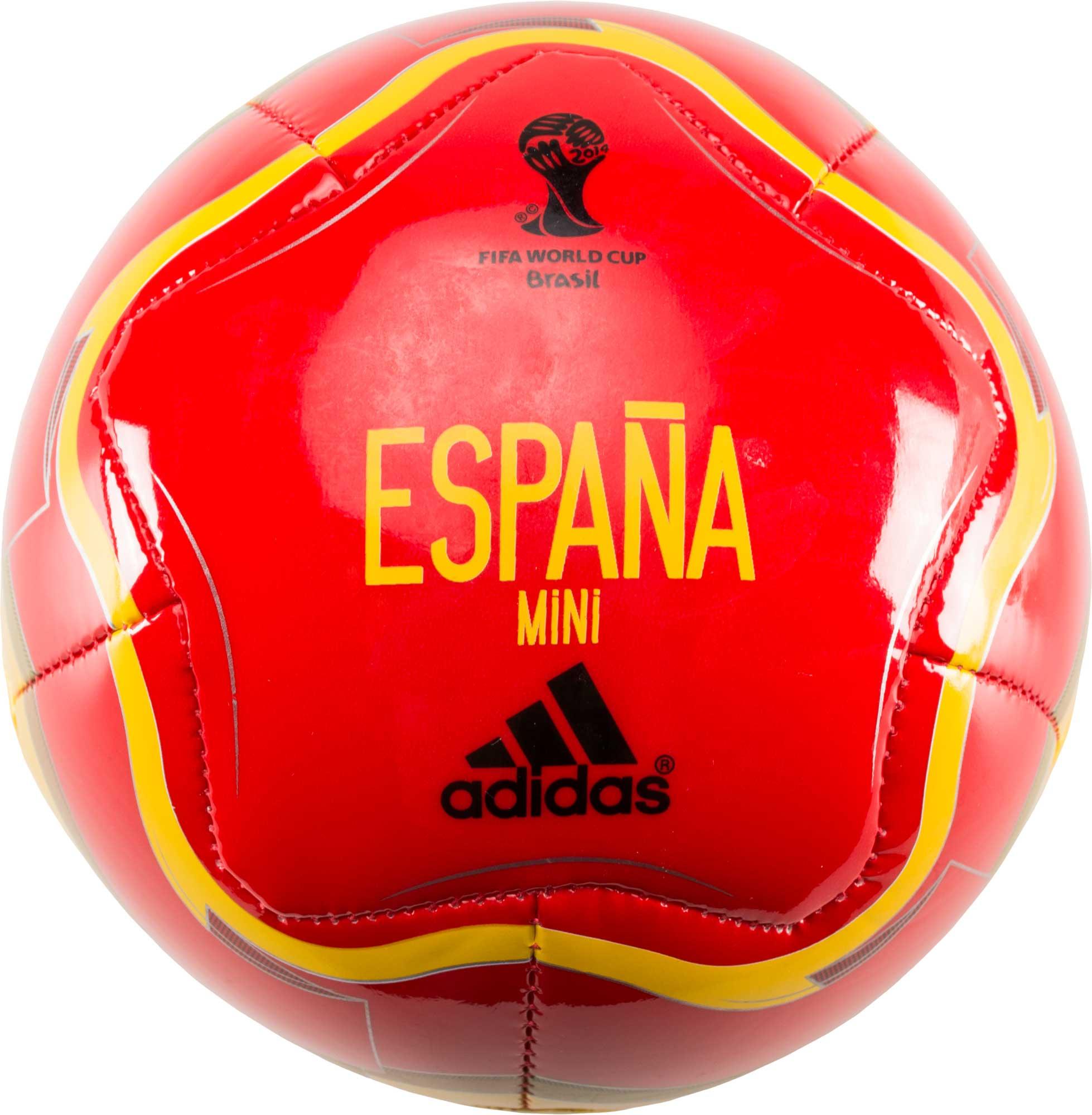 uk availability ee5d6 aca31 adidas Spain World Cup 2014 Capitano Mini Ball