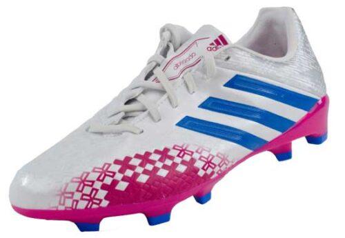 adidas Womens Predator Absolado LZ TRX FG  White/Blast Pink