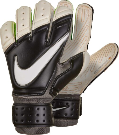Nike Premier SGT Goalkeeper Gloves – Black/White