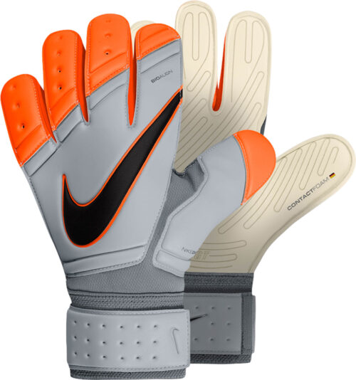 Nike Premier SGT Goalkeeper Gloves – White/Orange