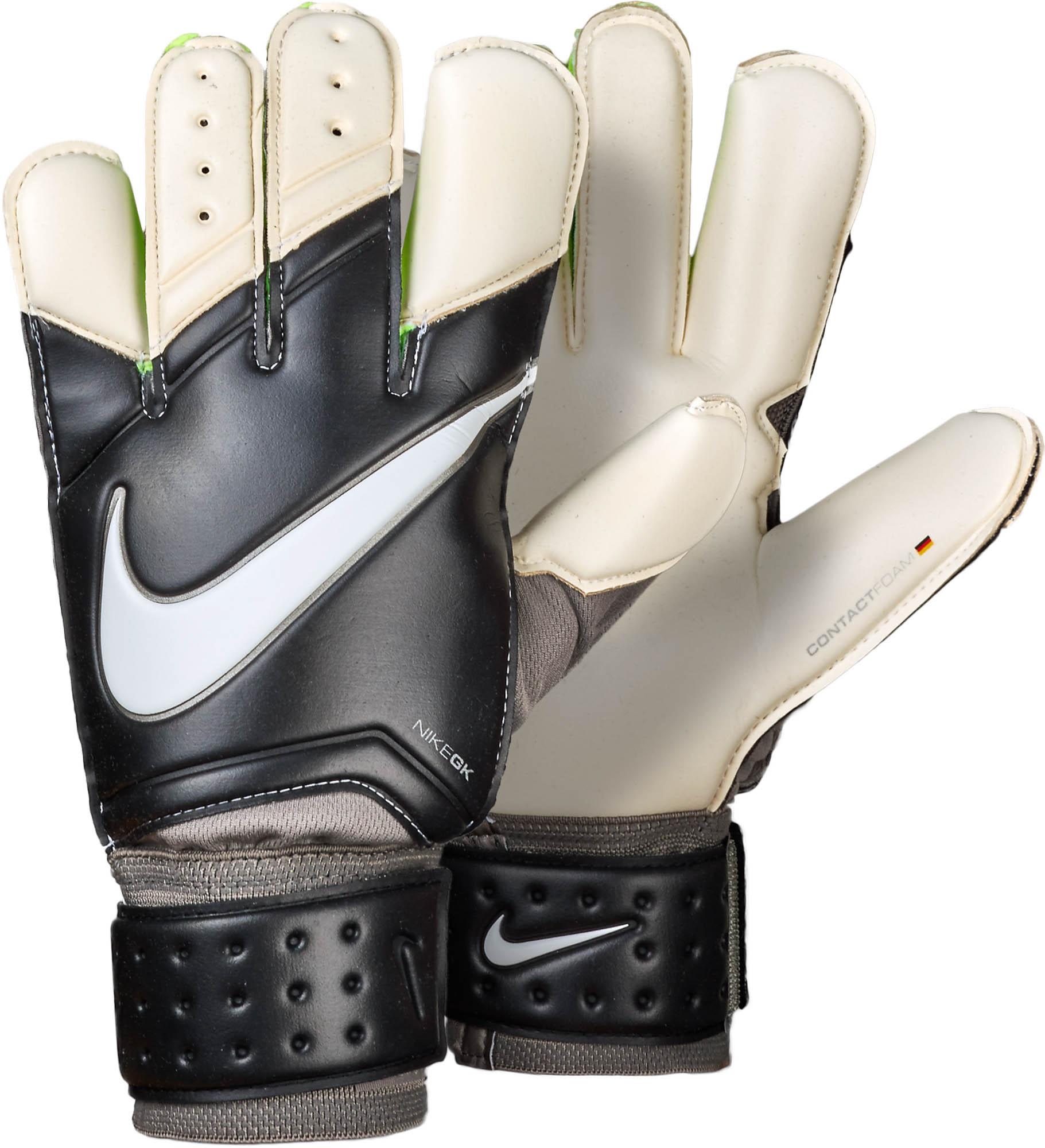 Nike Vapor Grip 3 Goalkeeper Gloves \u2013 Black/White