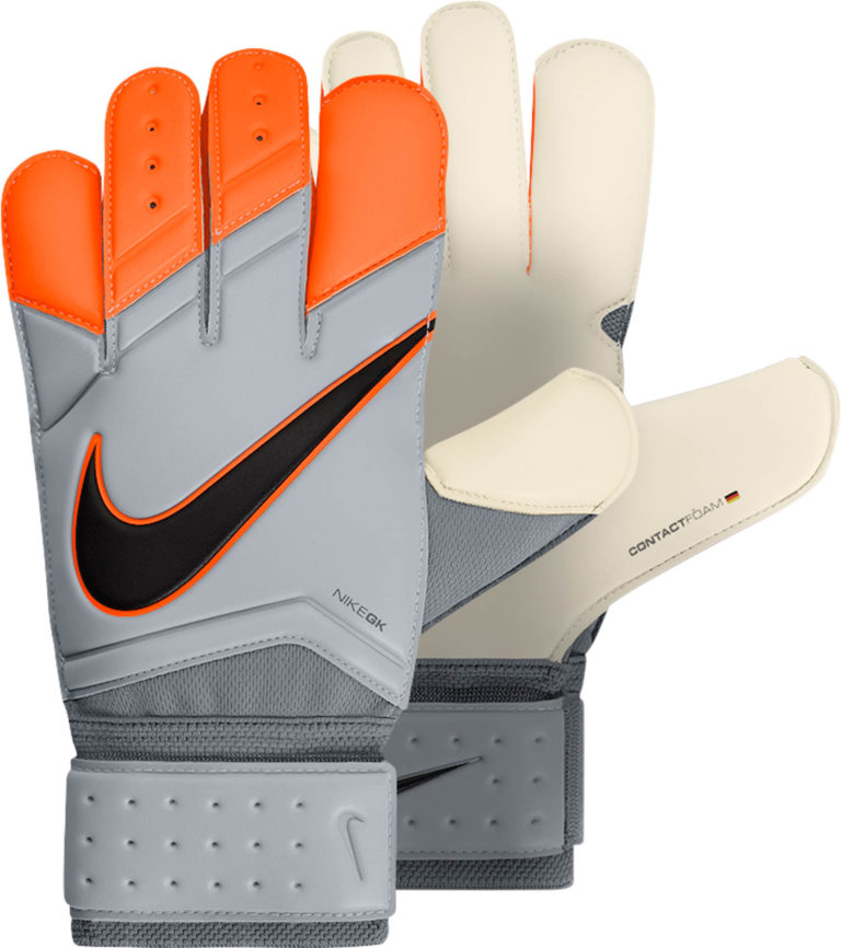 Nike Vapor Grip 3 Goalkeeper Gloves – White/Orange