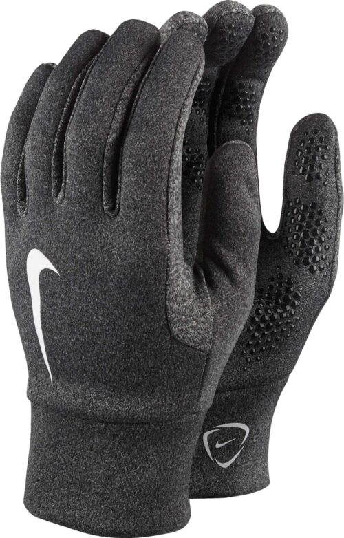 Nike Kids Hyperwarm Field Player Gloves – Black Heather/Black
