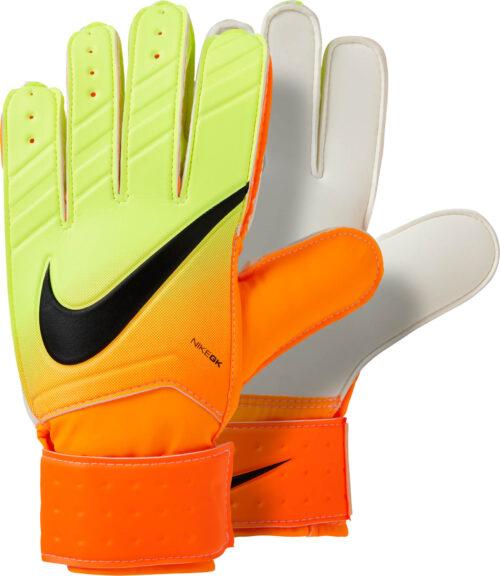 Nike Match Goalkeeper Gloves – Bright Citrus/Volt