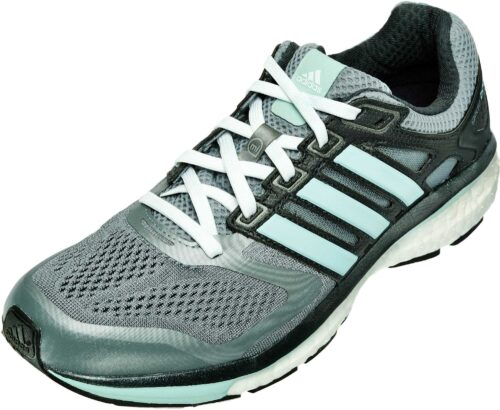 adidas Women's Supernova Glide 6 Boost Running Shoes – Grey/Mint