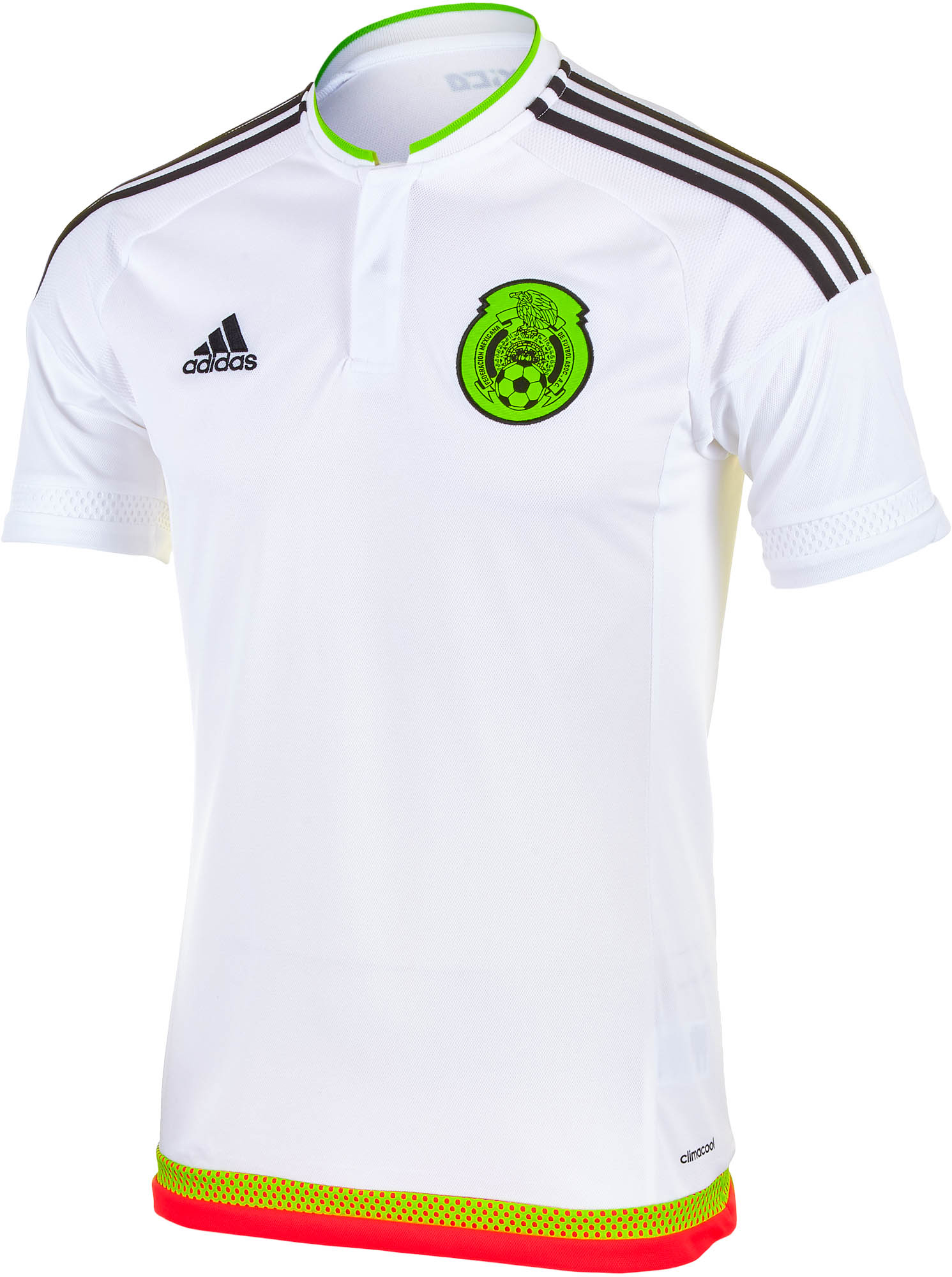 e8fbdd936ed adidas Mexico Jersey - White 2015 Kids Mexico Away Jerseys