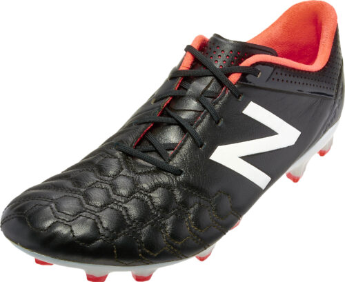New Balance Visaro K-Lite FG Soccer Cleats – Black/White