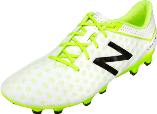 New Balance Visaro Pro FG Soccer Cleats (wide) – White/Toxic