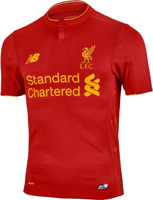 New Balance Liverpool Authentic Home Jersey 2016-17