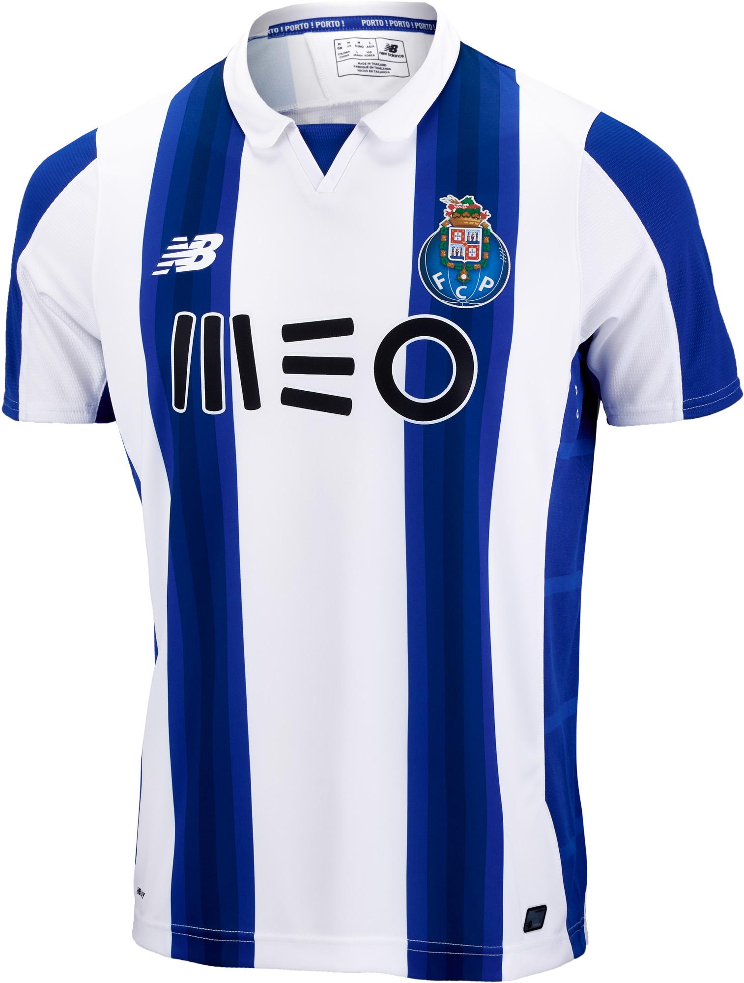 545f6c0ff New Balance Porto Home Jersey - 2016 Porto Jerseys