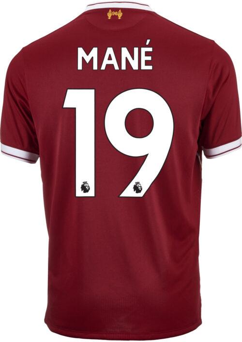 2017/18 New Balance Sadio Mane Liverpool Home Jersey