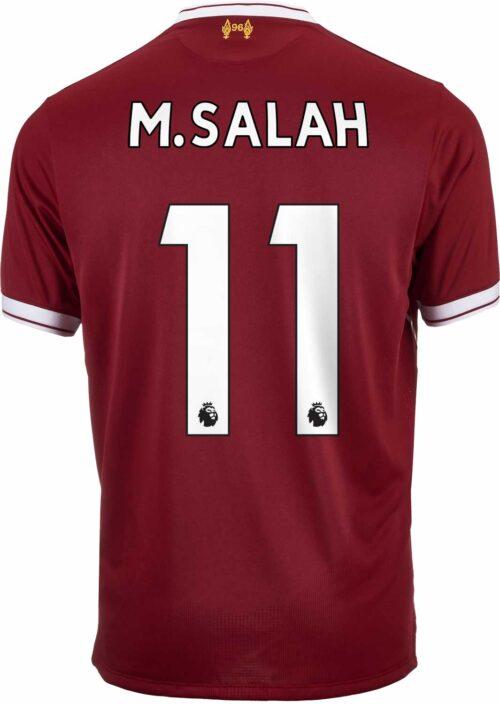 2017/18 New Balance M. Salah Liverpool Home Jersey