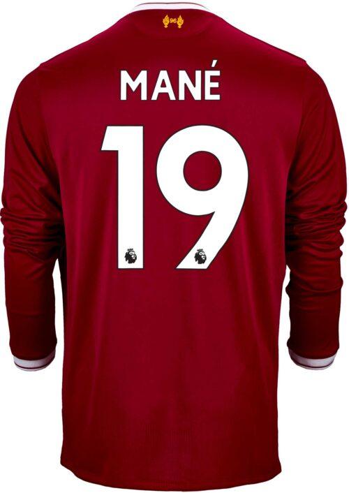 2017/18 New Balance Sadio Mane Liverpool L/S Home Jersey