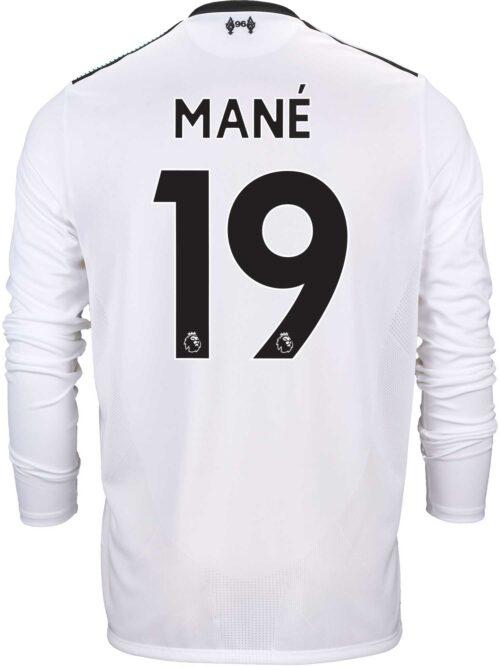 2017/18 New Balance Sadio Mane Liverpool L/S Away Jersey