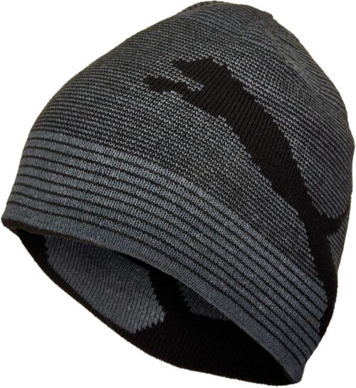 PUMA Reversible Beanie – Black