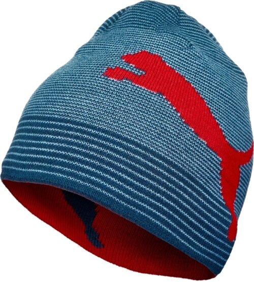 PUMA Reversible Beanie – Blue/Red