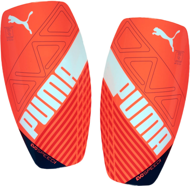 PUMA evoSPEED 1 Shinguard – Fiery Coral