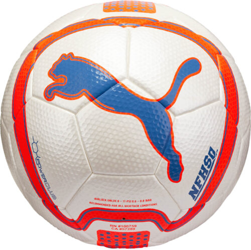 PUMA Powerclub 2.0 Soccer Ball – Blue/Orange