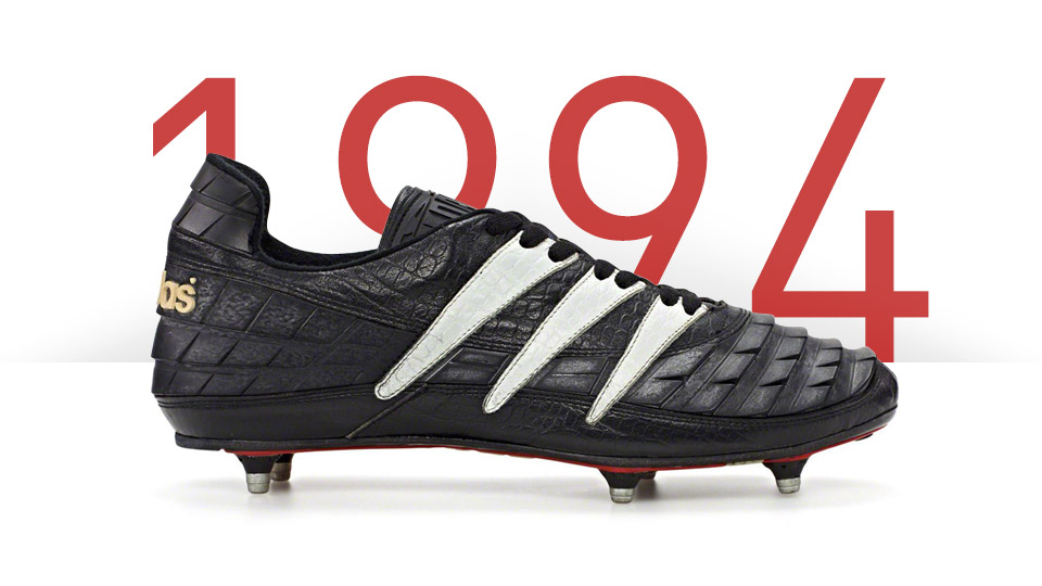 new style 7aff6 f2d60 The original adidas Predator was made in 1994. This was a time when cleats  were clunky and built for  hard men  who loved to shoes that allowed them  kick ...