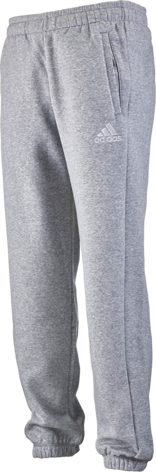 adidas Kids Core 15 Sweatpants – Medium Grey Heather/White