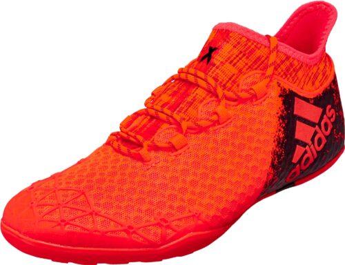 adidas X 16.1 Court – Solar Red/Black