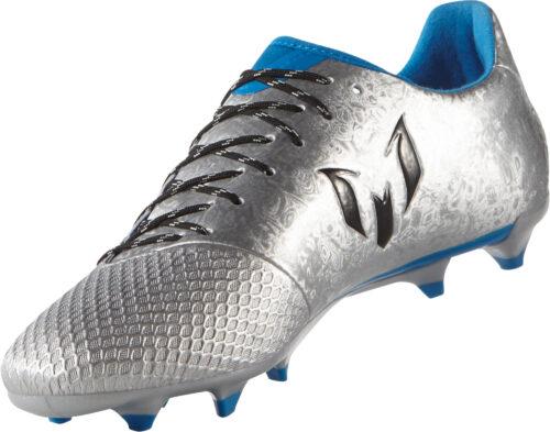 adidas Messi 16.3 FG – Silver Metallic/Core Black