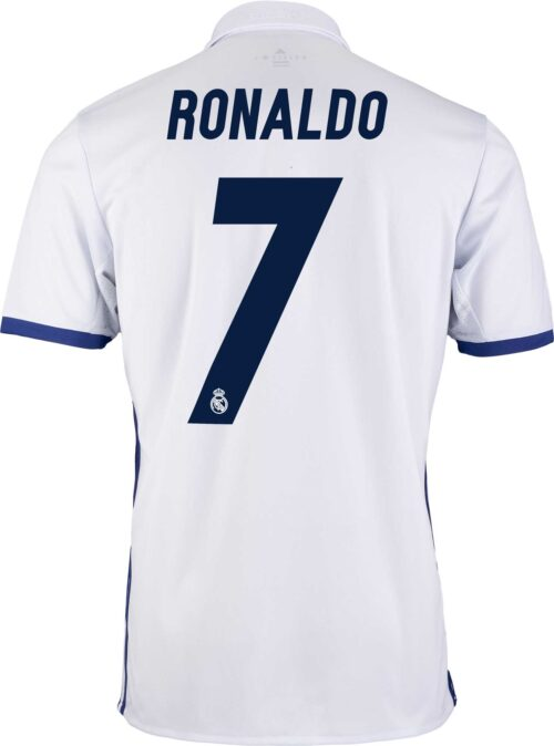 adidas Kids Cristiano Ronaldo Real Madrid Home Jersey 2016-17