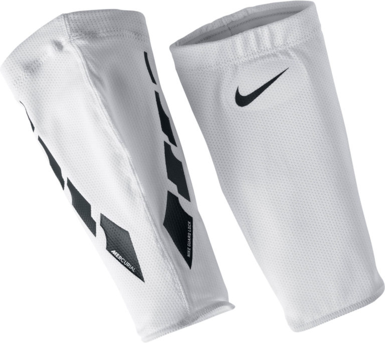 Nike Elite Guard Sleeves – White/Black
