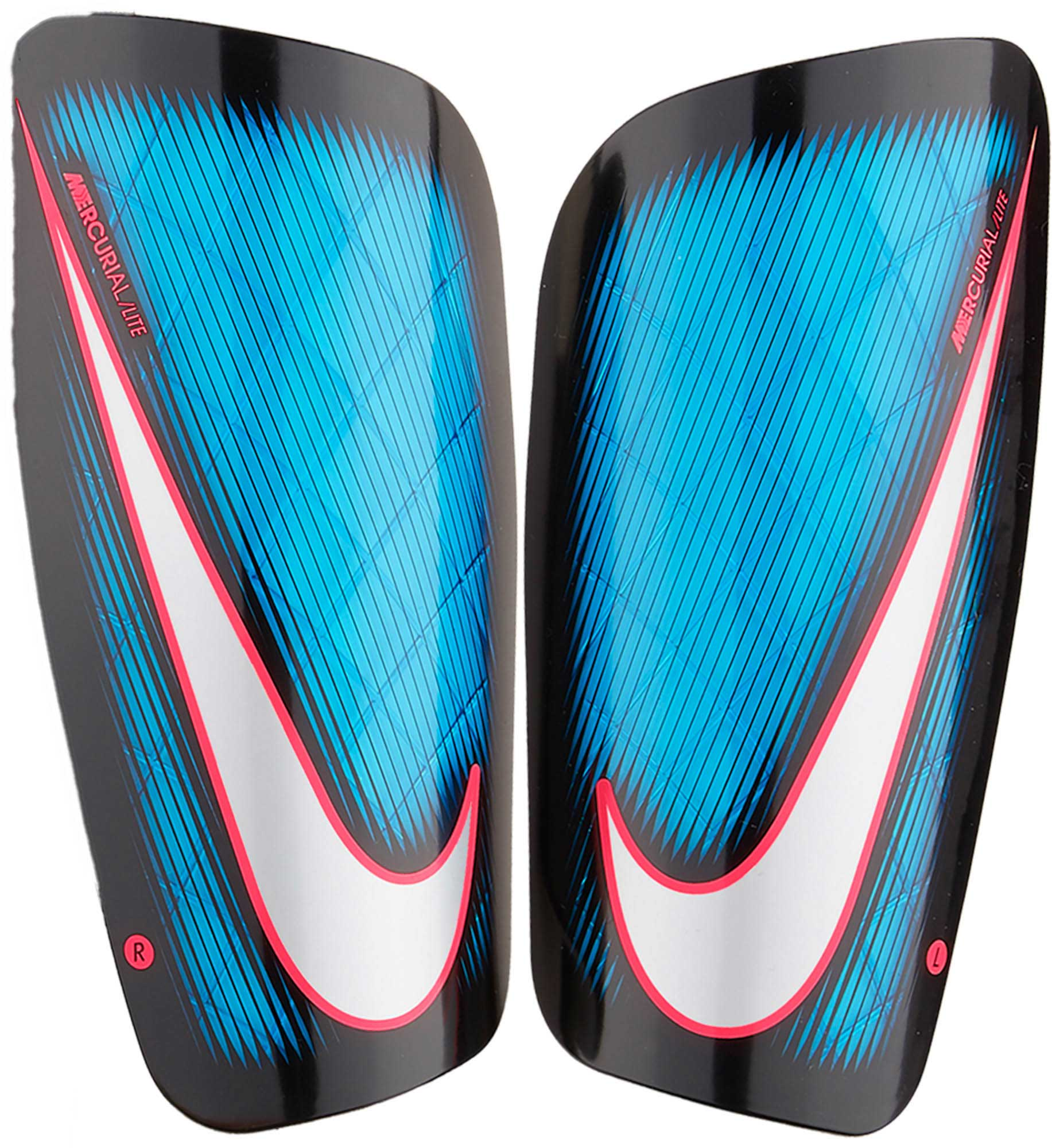 online retailer 3dd26 8aa76 Nike Mercurial Lite Shin Guards – Blue Orbit Black