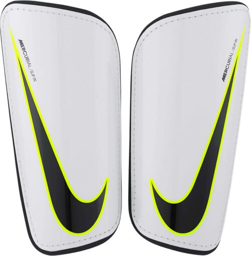 Nike Hard Shell Slip-in Shin Guards – White/Black