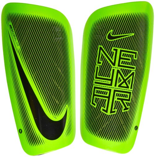 Nike Mercurial Lite Shinguards – Neymar – Black/Electric Green