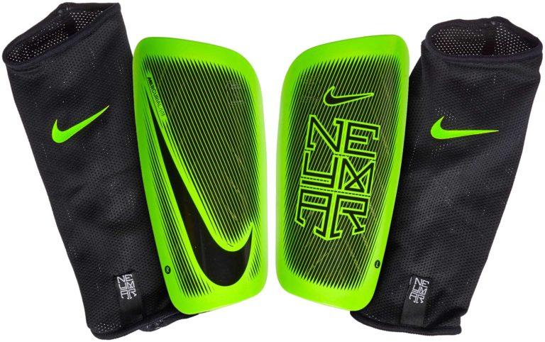 Nike Mercurial Lite Shinguards – Neymar – Black/Electric Green