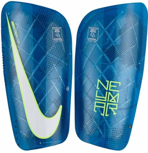 Nike Mercurial Lite Shin Guards – Neymar – Blue Orbit/Volt