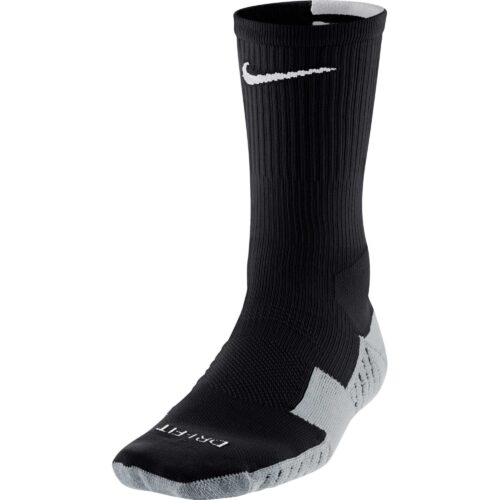 Nike Stadium Crew Sock – Black & Wolf Grey