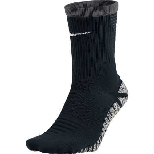 Nike Grip Strike Cushioned Crew Sock – Black & Anthracite